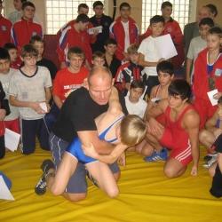 Мастер-класс 3-х кратного чемпиона Олимпийских игр А.А.Карелина